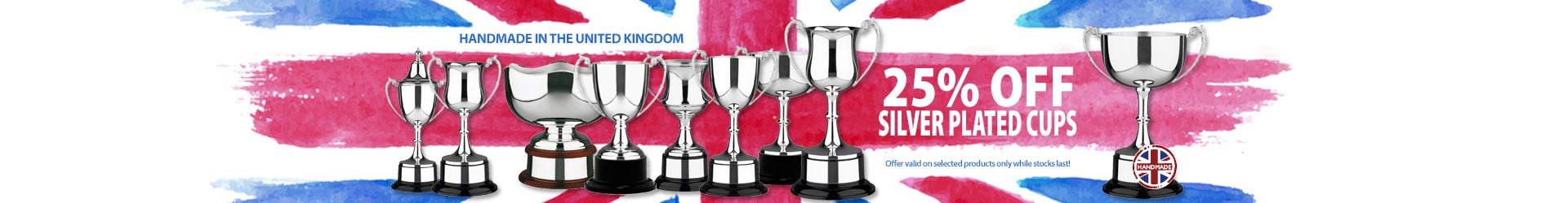 Silverplated Cups with 25% Off